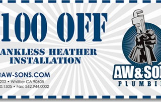 San Clemente Plumber Tankless Heater Coupon